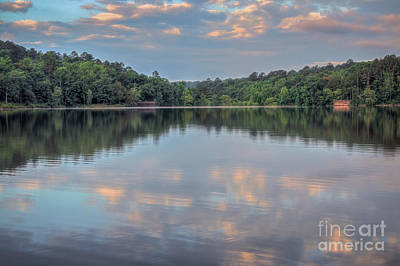 Photograph - Shores Lake by Larry McMahon