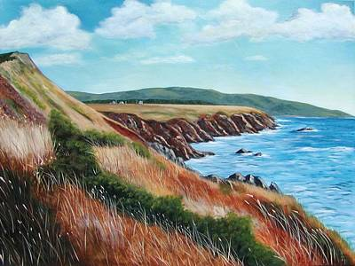 Painting - Shores Of Cape Breton by Sharon Steinhaus