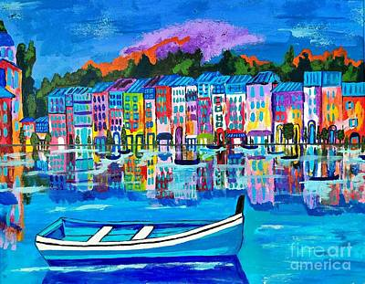 Shores Of Italy Art Print