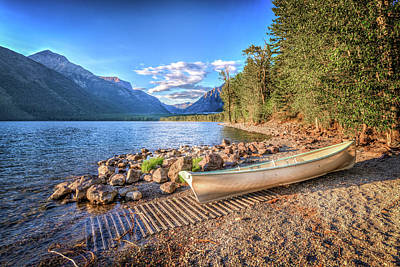 Photograph - Shores Of Lake Mcdonald by Spencer McDonald