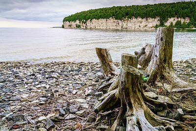 Photograph - Shores Of Lake Michigan by Alexey Stiop