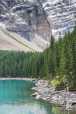Photograph - Shores Of Lake Moraine by Mike Reid