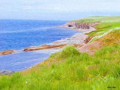 Painting - Shores Of Newfoundland by Jeff Kolker
