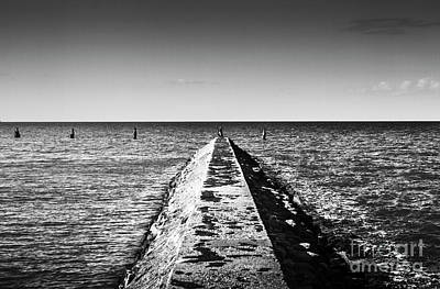 Photograph - Shorncliffe Pier Old Bathing Enclosure by Jorgo Photography - Wall Art Gallery