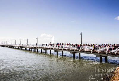 Shorncliffe Pier Opening Ceremony Art Print by Jorgo Photography - Wall Art Gallery