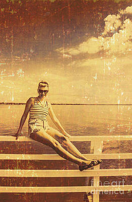 Photograph - Shorncliffe Pier Pin Up by Jorgo Photography - Wall Art Gallery