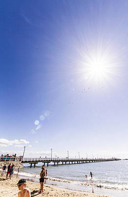 Photograph - Shorncliffe Pier Shortly After Its Re-opening by Jorgo Photography - Wall Art Gallery