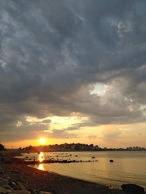 Photograph - Short Beach Sunset by Robert Nickologianis
