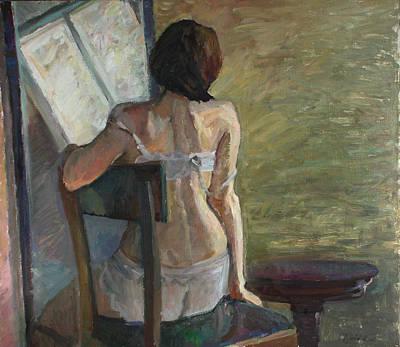 Painting - Short Day by Juliya Zhukova