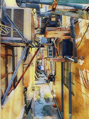 Digital Art - Short Path In Hong Kong by Yury Malkov