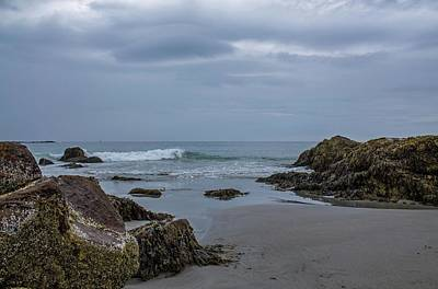 Photograph - Short Sands Beach In York Maine 3 by Michael Saunders