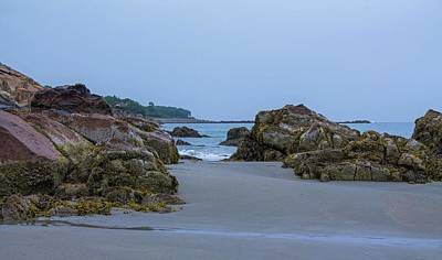 Photograph - Short Sands Beach York Maine 4 by Michael Saunders
