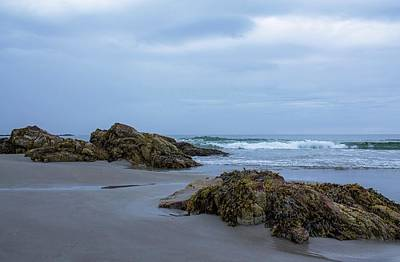 Photograph - Short Sands Beach York Maine 5 by Michael Saunders