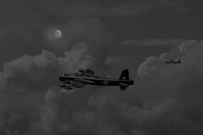 Short  Stirling - 'forgotten Bomber' Art Print by Pat Speirs