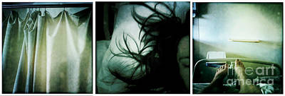 Self-portrait Mixed Media - Short Story. #1. by Kallena Kucers