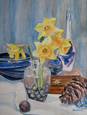 Daffodils Painting - Short Story by Jenny Armitage