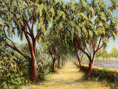 Painting - Shortcut To Paradise by Danuta Bennett
