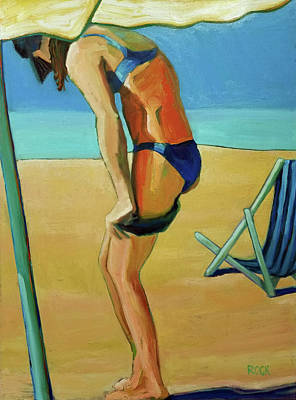 Wall Art - Painting - Shorts by Leslie Rock