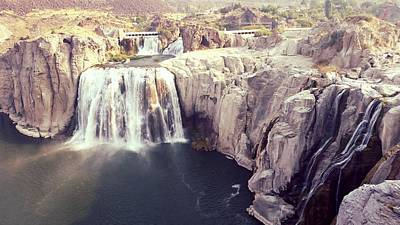 Photograph - Shoshone Falls by Bonnie Bruno