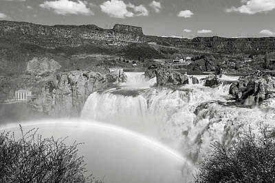 Photograph - Shoshone Falls by Mark Mille