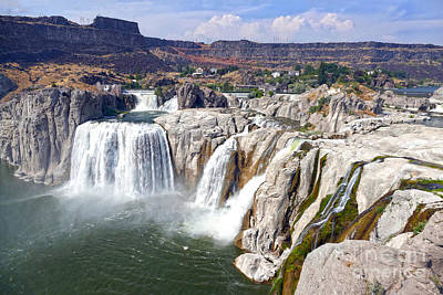 Photograph - Shoshone Falls On The Snake River by Catherine Sherman