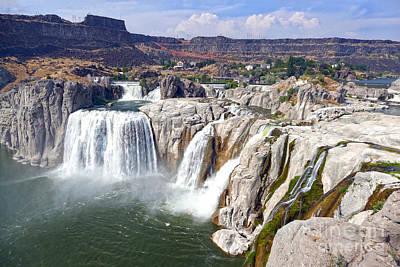 Tina Turner - Shoshone Falls on the Snake River by Catherine Sherman