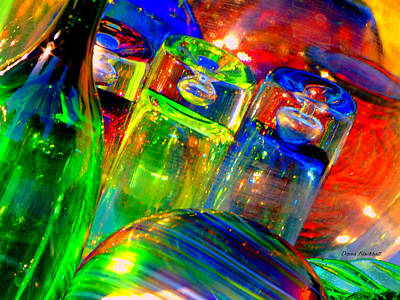 Photograph - Shot Glass by Donna Blackhall