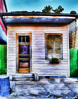 Photograph - Shotgun House Number 3 by Tammy Wetzel