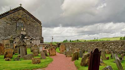 Photograph - Shottskirk Cemetery. by Elena Perelman