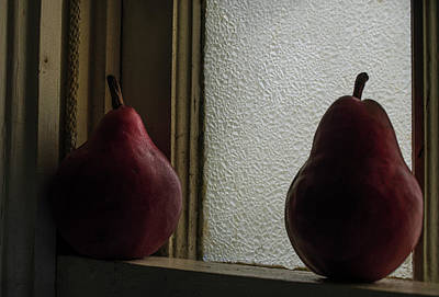 Photograph -  Should I Stay  - The Pear Saga  by Rae Ann  M Garrett