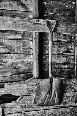 Photograph - Shovel by Nikolyn McDonald