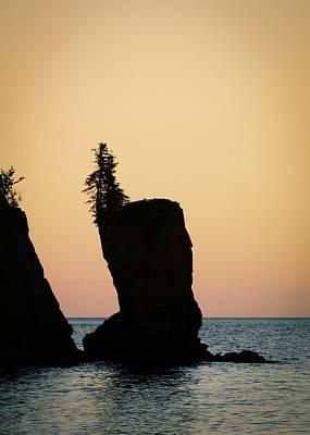 Photograph - Shovel Point On Lake Superior by Heidi Hermes