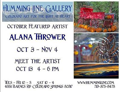 Photograph - Show Announcement by Alana Thrower