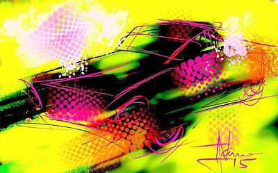 Painting - Show Car by Jim Vance