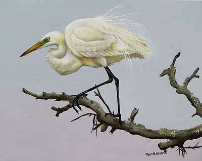 Painting - Show Off by Phyllis Beiser