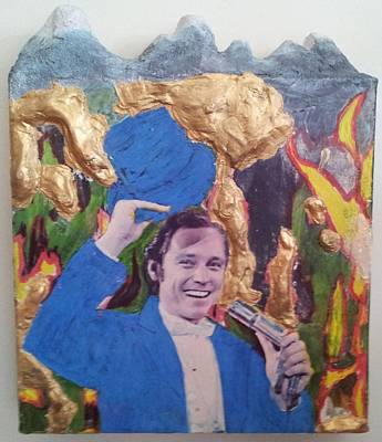 Important Mixed Media - Show The Ringmaster  by William Douglas