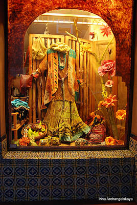 Photograph - Show Window by Irina ArchAngelSkaya