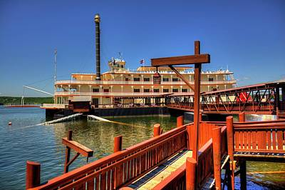 Photograph - Showboat Branson Belle by Ester Rogers