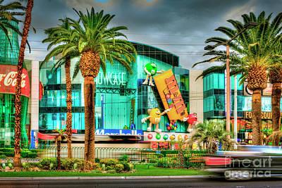 Photograph - Showcase Mall Las Vegas Strip by David Zanzinger