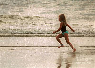 Anchor Down - Showers At The Beach by Diann Fisher
