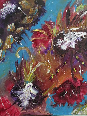 Painting - Showers Of Flowers by Sharyn Winters
