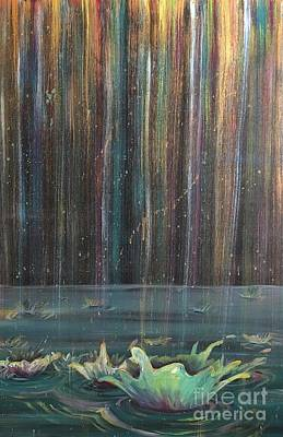 Painting - Showers Of Providence by Lisa DuBois