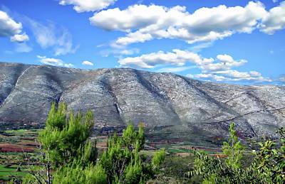 Photograph - Shpiragu Mountain by Anthony Dezenzio