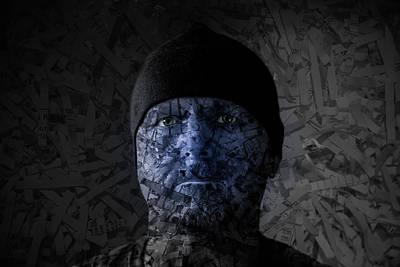 Shredded Lives Art Print