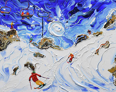 Painting - Shreddin by Pete Caswell