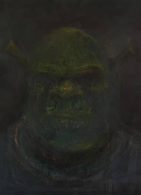 Shrek Art Print by Antonio Ortiz