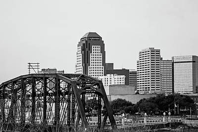 Shreveport Downtown Print by Scott Pellegrin
