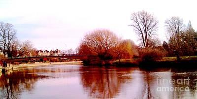 Photograph - Shrewsbury Landscape by Anthony Manders