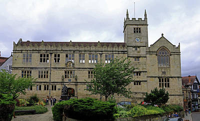 Photograph - Shrewsbury Library by Tony Murtagh