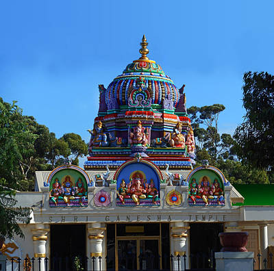 Photograph - Shri Ganesha Temple by Mark Blauhoefer